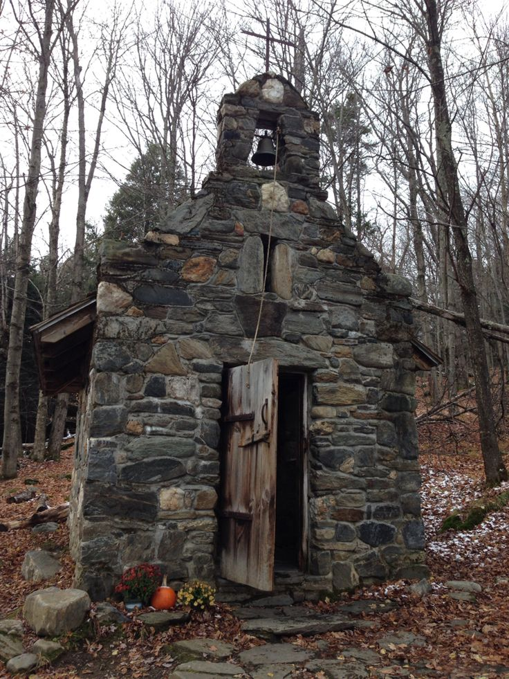Chapel at Trapp Family Lodge in Stowe, Vermont. Totally worth the hike!