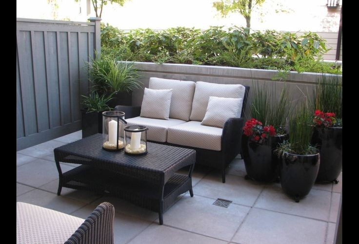 Small condo patio small condo decorating ideas for Pinterest small patio ideas