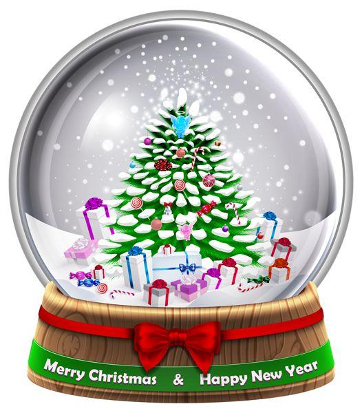free clipart snow globe - photo #23