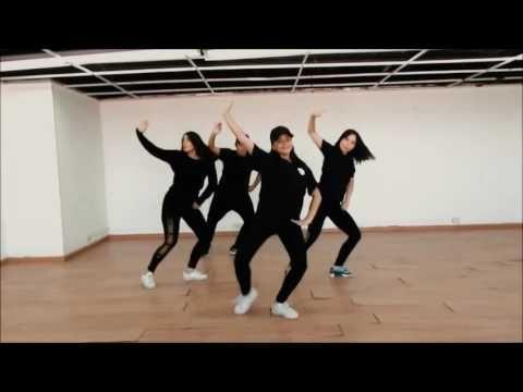 Me rehuso - Danny Ocean Choreography by Leonardo Siza & Sandra Fuentes - YouTube