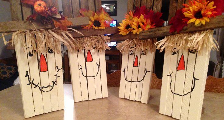 More scarecrows!!!