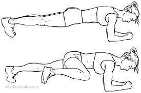 3. Spiderman Plank Crunch