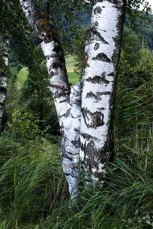 Johannes Stoetter, l'artiste de body painting de camouflage par excellence, est à découvrir sur LeBodyPainting.fr