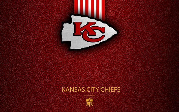 Download Wallpapers Kansas City Chiefs 4k American Football Logo Emblem Kansas City Mis Kansas City Chiefs Logo Kansas City Kansas City Chiefs