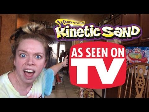 KINETIC SAND - DOES THIS THING REALLY WORK? NEED TO WATCH HER VIDEOS ARE HILARIOUS!