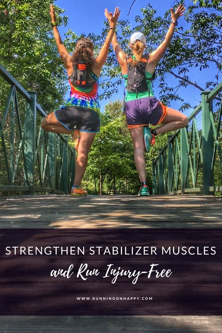 Strengthen Stabilizer Muscles and Run Injury-Free
