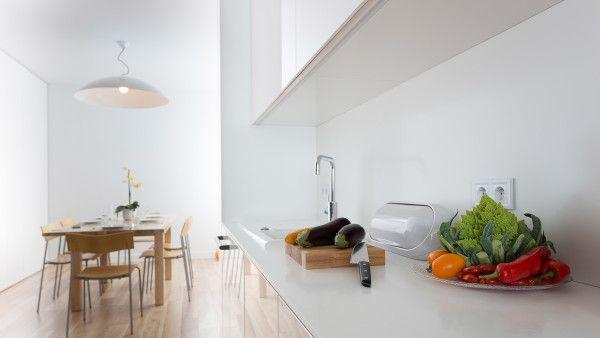 Mieszkanie na Choszczówce | tryc.pl białe wnetrze, minimalizm