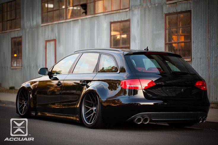 AccuAir Suspension and The #Audi Air4 Avant #AudiHuntValley