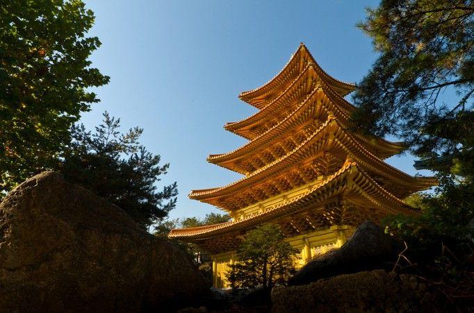 Golden Temple in Korea