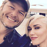 Cute Gwen Stefani and Blake Shelton Pictures | POPSUGAR Celebrity