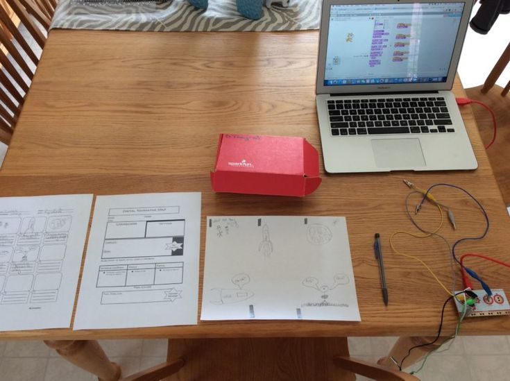 Creating a Digital Narrative with Makey Makey and Scratch