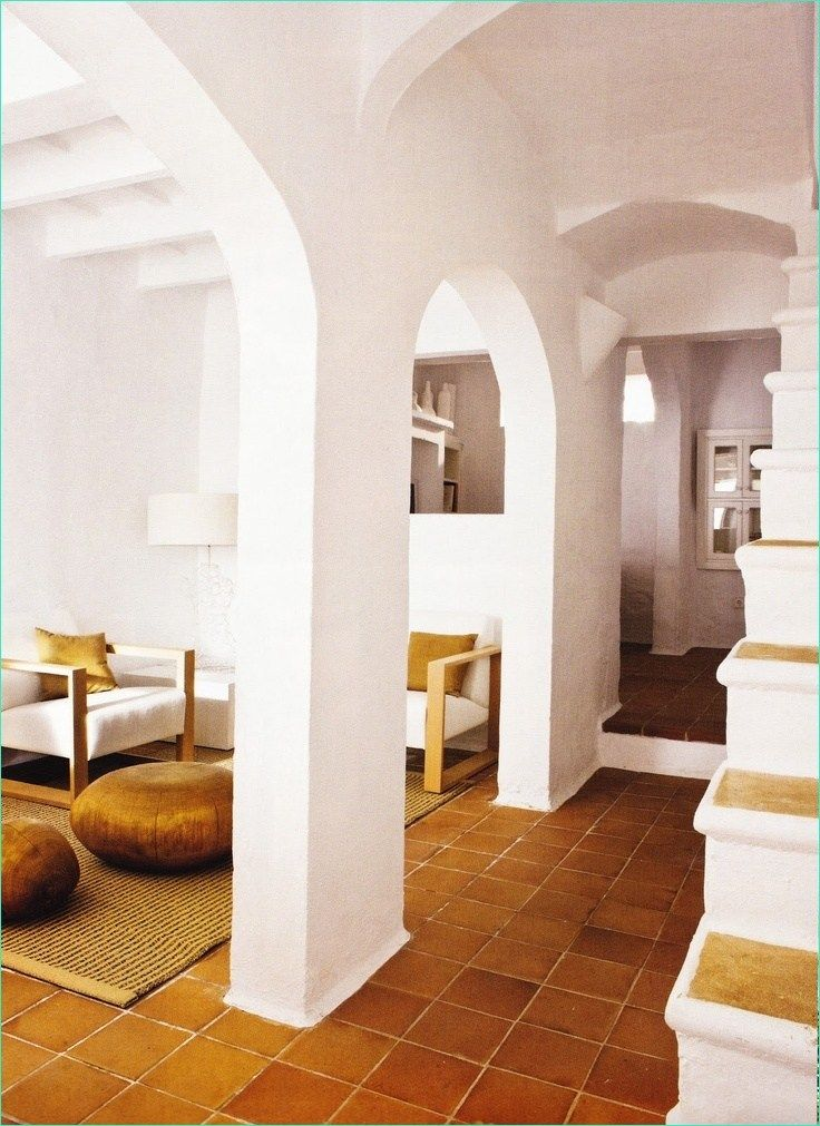 38 Stunning Terracotta Tiles Interior Design Decor Renewal House Design Living Room Tiles Modern Interior #white #tile #floor #living #room #ideas