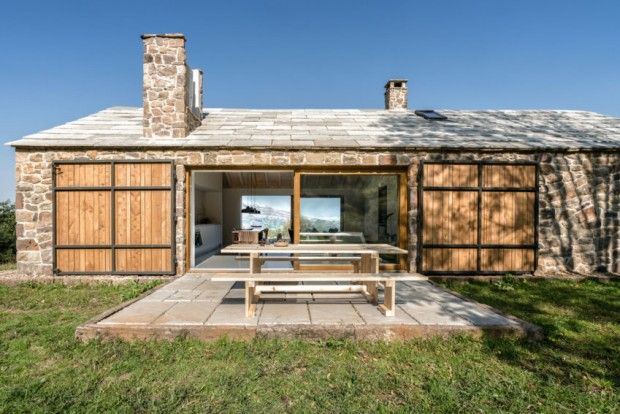 nice Villa Slow en Espagne par le studio Laura Alvarez Architecture