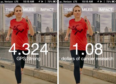 iphone walking distance tracking app