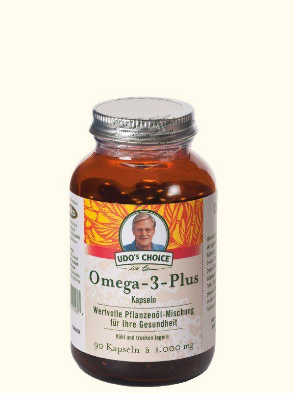 Omega-3-Plus Kapseln, 90 Stück