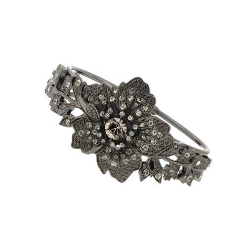 1928 Bridal New Series Jet Black Crystals Diamond Cut Bracelet 1928. $85.00. Ship sameday as ordered. Dress up in style. 1928 Bridal New Series Jet Black Crystals Diamond Cut Bracelet. Free Gift Wrapping with each order!