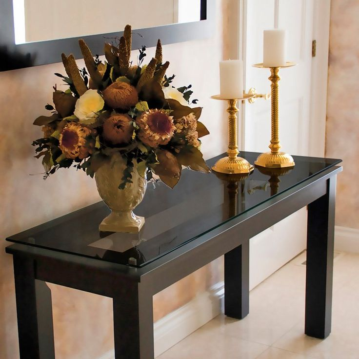 Foyer Table Vases : Best console tables images on pinterest
