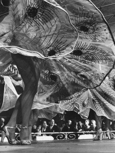 Legs and Swirling Skirts, New York City, 1947 by Gjon Mili