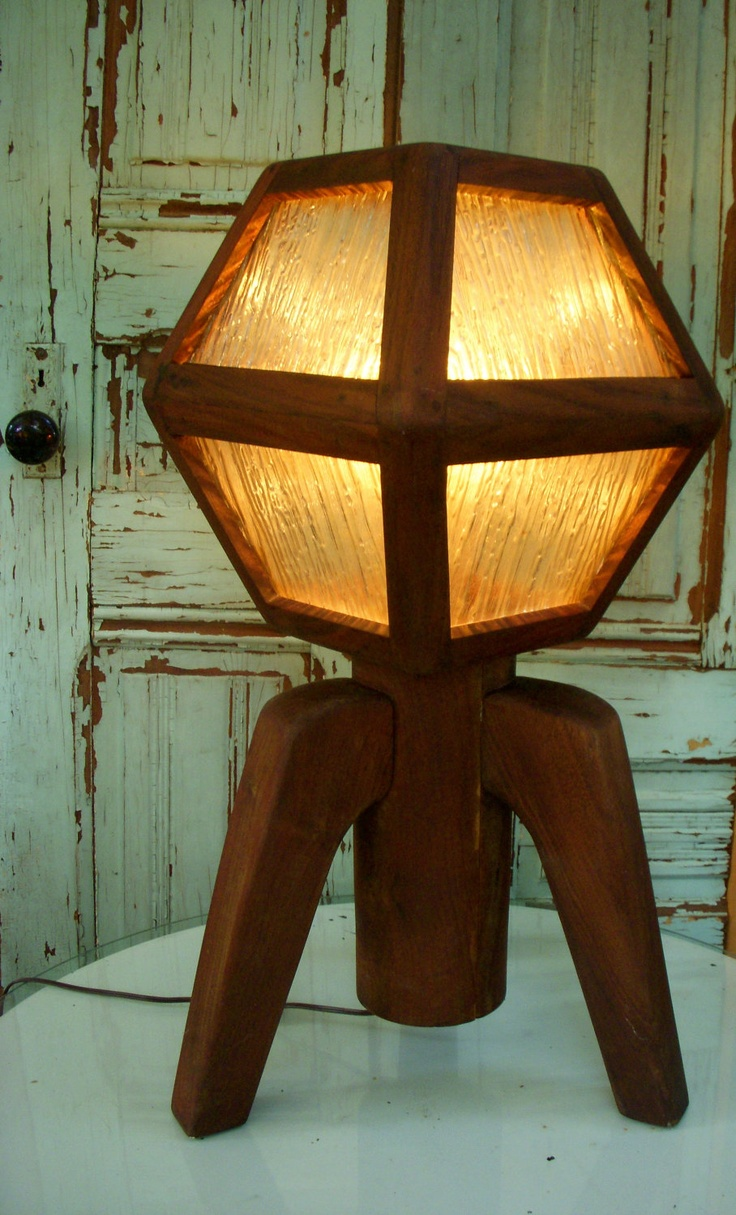 99 best arts and crafts movement images on pinterest bungalows handmade wooden lamp arts and crafts movement by honeystreasures arubaitofo Images