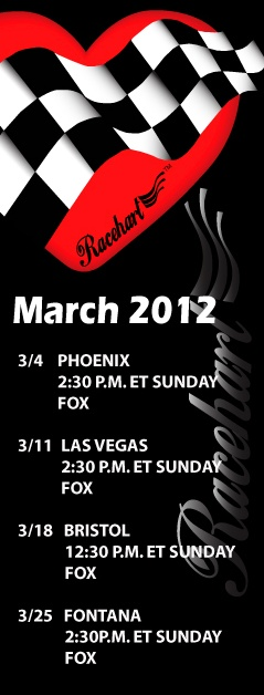NASCAR Sprint Cup Schedule - March 2012