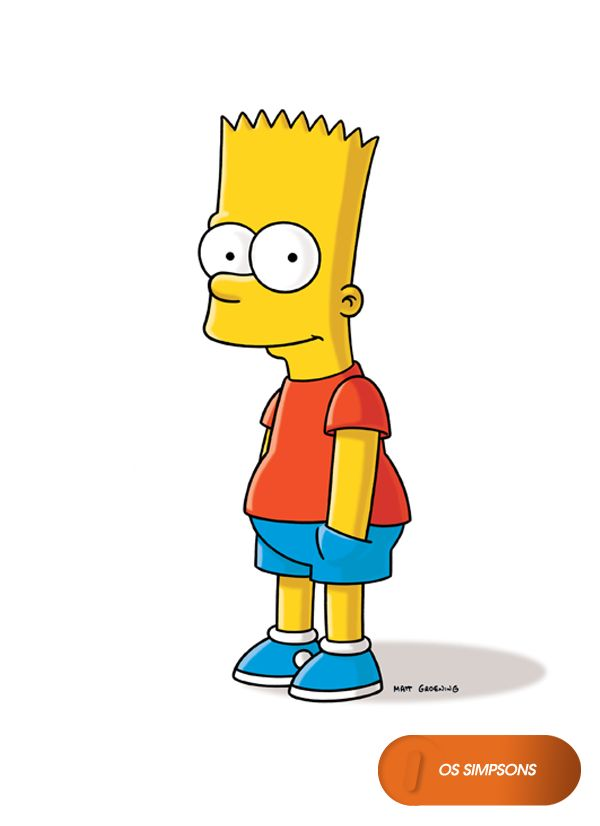 Bart Simpson.  Os Simpsons - Domingos 20h  #OsSimpsons  www.canalfox.com.br/ossimpsons