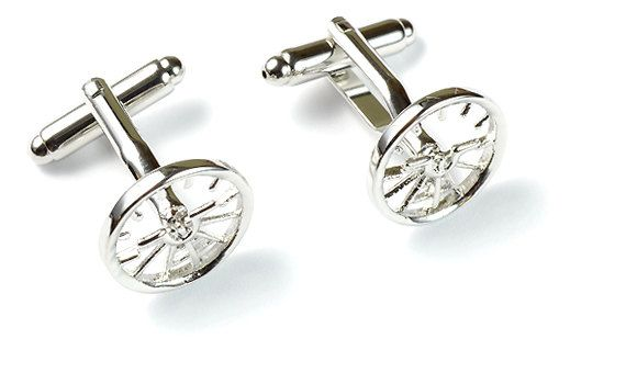 $89.00 Via @etsy: This elegant handmade attitude indicator #cufflinks is sure to dazzle anyone.  #menswear.