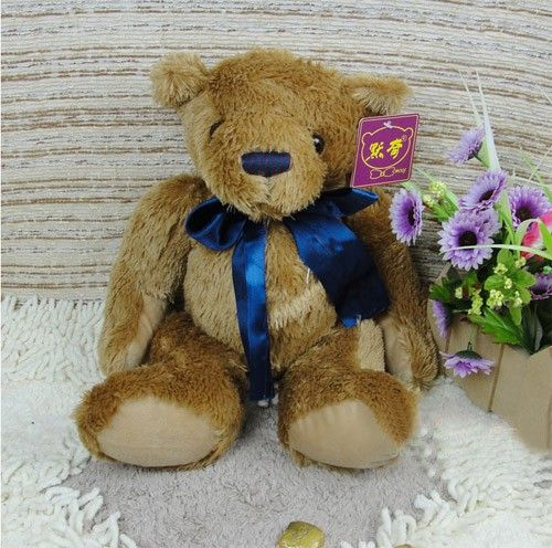Lovely Soft Stuffed Animal Plush Teddy Bear as a Cushion for Friends and Valentinesat EVToys.com