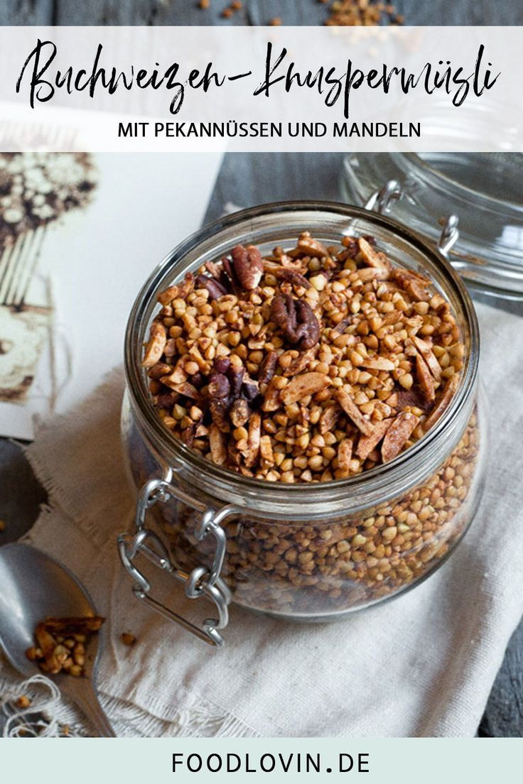 Crunchy muesli with buckwheat