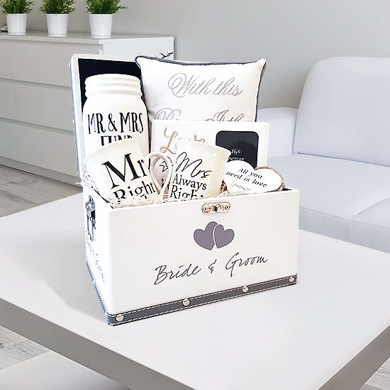 Luxury Engagement hamper: These are quickly becoming the number one engagement gift of choice. They bring joy into the life of the person.
