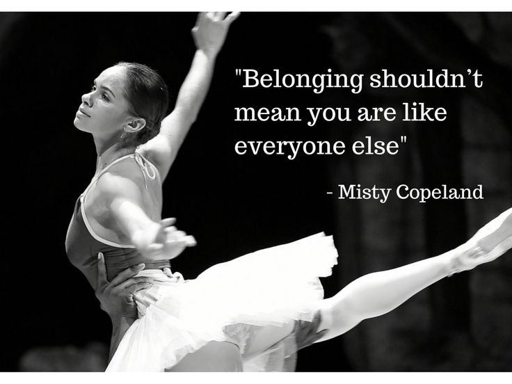 Misty Copeland quote