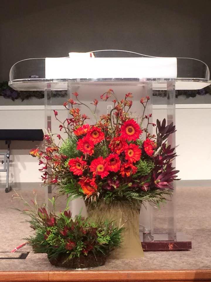 Church Flower Arrangement  Mar. 30, 2014