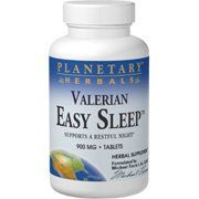 Valerian Easy Sleep by Planetary Herbals. Save 72 Off!. $5.74. Planetary Herbals Valerian Easy Sleep? is a unique combination of botanicals used for centuries to help support a restful night. It unites valerian, used since the 9th century for its calming properties, with equally legendary calmatives hops and chamomile, as well as other selected European and Chinese botanicals.