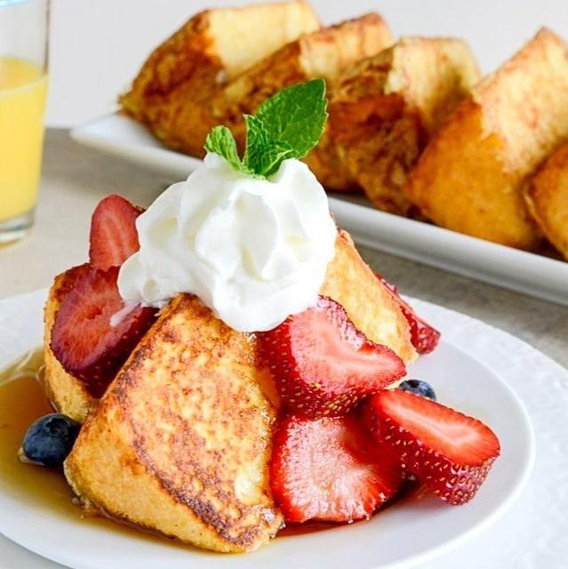 レシピとお料理がひらめくSnapDish - 178件のもぐもぐ - Angel Cake French toast by desiree