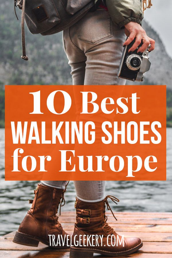 European travel outfit, Best walking shoes