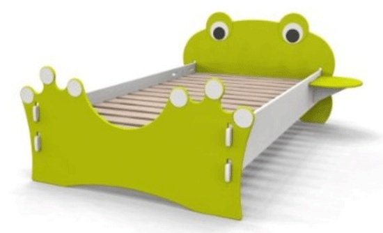Cute-&-Awsome-Frog-Twin-Bed-for-Kids-by-Legare