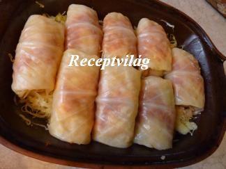Töltött káposzta cserépedényben - RECEPTVILÁG - Receptes oldal - receptek képekkel