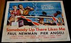 Paul Newman somebody up there likes me Rocky Graziano original movie poster - Graziano, Likes, Movie, NEWMAN, ORIGINAL, PAUL, Poster, rocky, Somebody, There