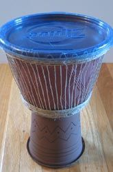 Make an African Djembe Drum