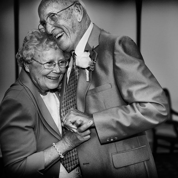 Play the first dance song of the longest-married couple at your wedding! | David Schwartz Photography