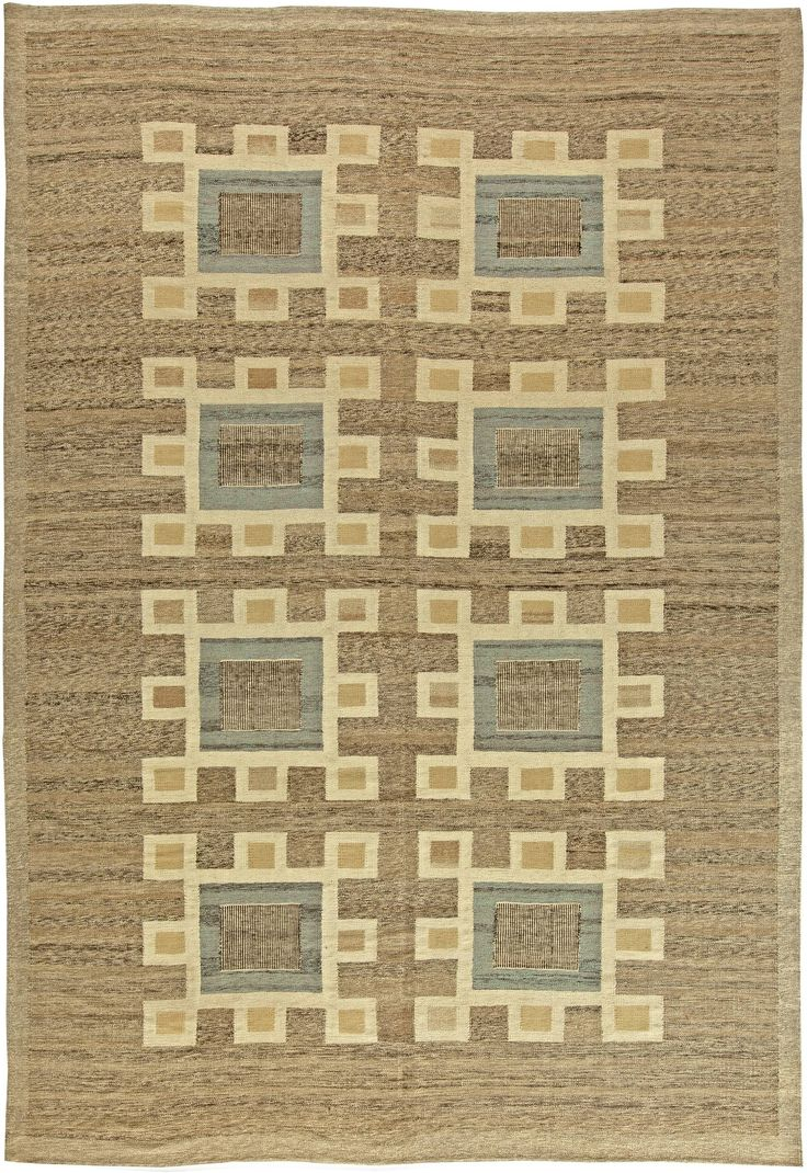 Swedish Flat Weave Rug N11206 By Doris Leslie Blau