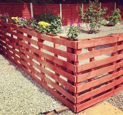 Как построить из деревянных поддонов курятник, забор и многое другое...