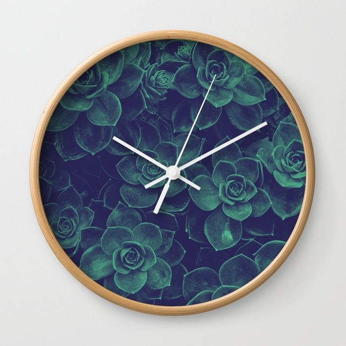 """WALL CLOCK FOR SALE from 30,99$. Available in natural wood, black or white frames, our 10"""" diameter unique Wall Clocks feature a high-impact plexiglass crystal face and a backside hook for easy hanging. Choose black or white hands to match your wall clock frame and art design choice. Clock sits 1.75"""" deep and requires 1 AA battery (not included)."""
