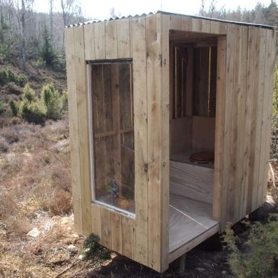 The Bothy Project » Finished Bothy