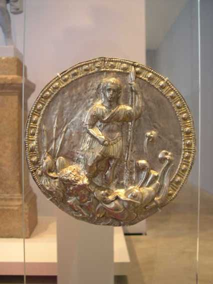 A Phalera, a medal of honor given to the bravest Roman soldiers