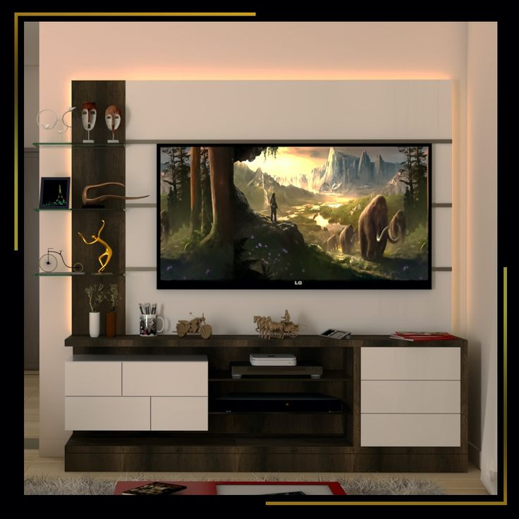 Living Room Interiordesign Bangalore: You Can Design Your Tv Unit To Be Flawlessly Stylish Or