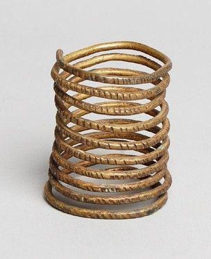 Child's bangle made of brass.