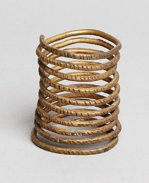Child's bangle made of brass.