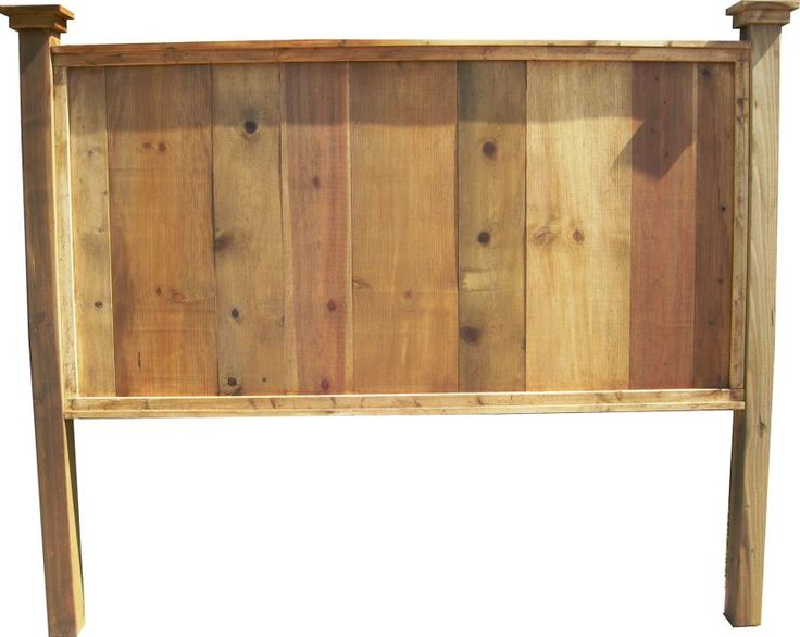 Knotty Pine Headboard King Size