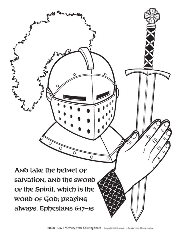 1000 Images About Bible Lessons On Pinterest Calming Bottle Helmets And The Spirit Helmet Of Salvation Coloring Page