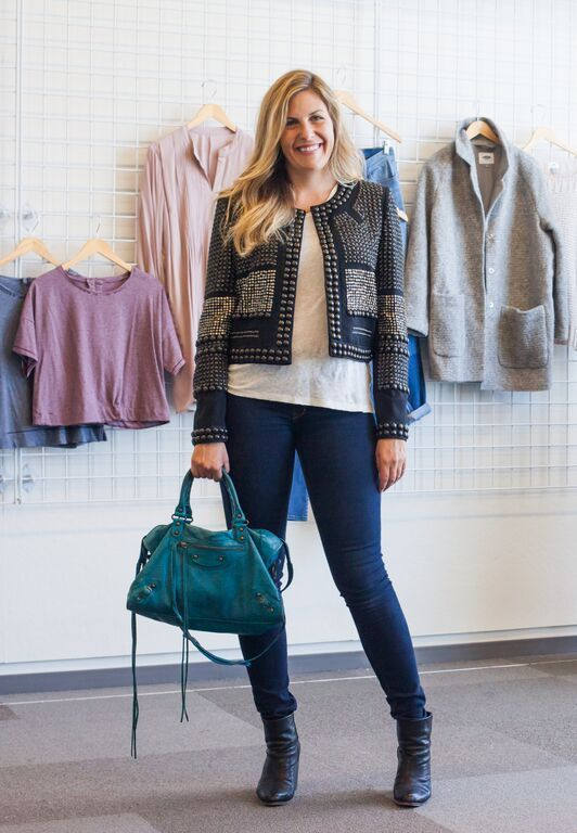 Isabel Marant Jacket A Rare Teal Balenciaga Bag More Work Style From The